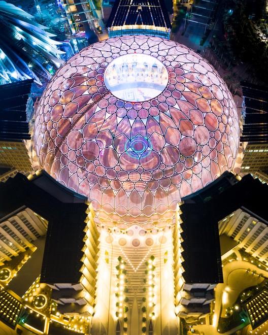 Al Wasl Plaza.  Изображение предоставлено Expo 2020 Dubai