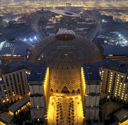 Al Wasl Plaza and Sustainability Pavilion. Image Courtesy of Expo 2020 Dubai