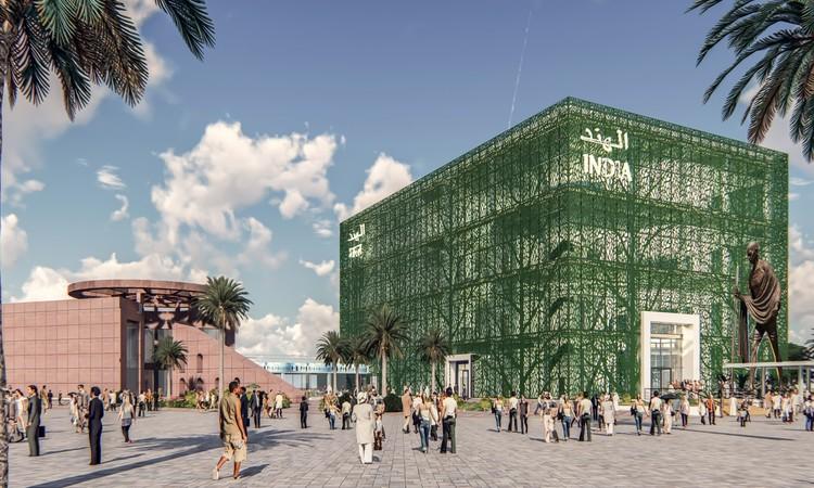 Павильон Индии.  Изображение предоставлено Expo 2020 Dubai