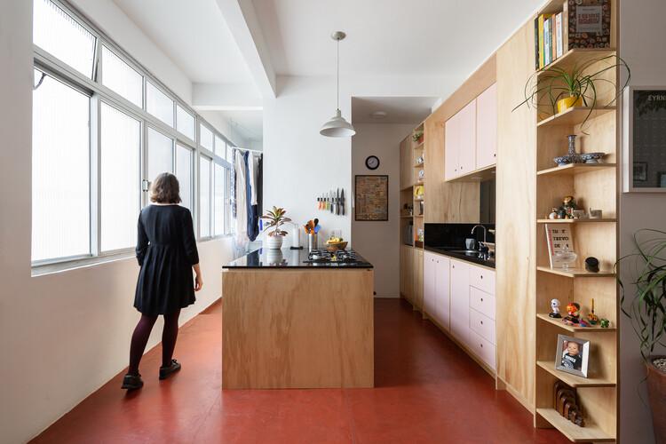 Apartamento Prado / Sabiá Arquitetos, © Manuel Sá