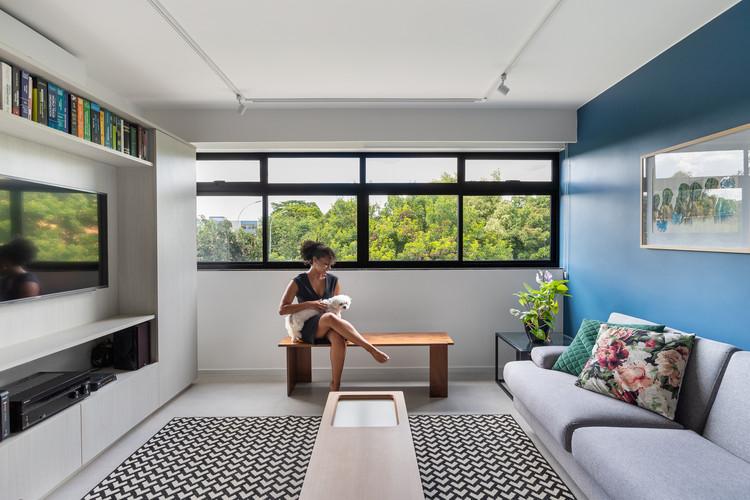 415N Апартаменты / CoDA;  Аса Норте, Бразилия.  Изображение © Júlia Tótoli