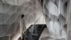 Novo interior para escadas e átrio da Casa Batlló  / Kengo Kuma & Associates