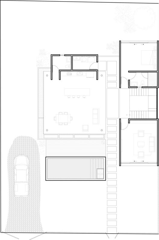 План Naia Two на первом этаже