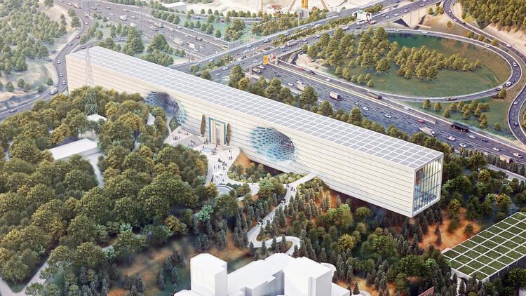 Тегеранский музей науки от Art of City Engineering.  Изображение © Мохсен Рудсараби