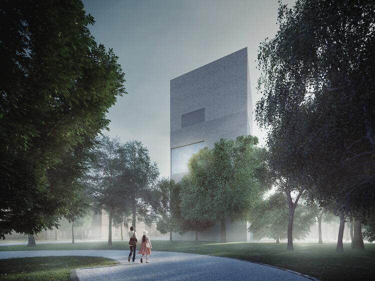 Новый художественный музей Сары Хильден в Тампере от hey5.  Изображение предоставлено hey5