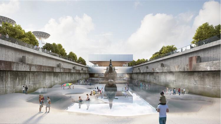 Шанхайский музей подводных лодок от PES-Architects.  Изображение © Хансинок, PES-Architects