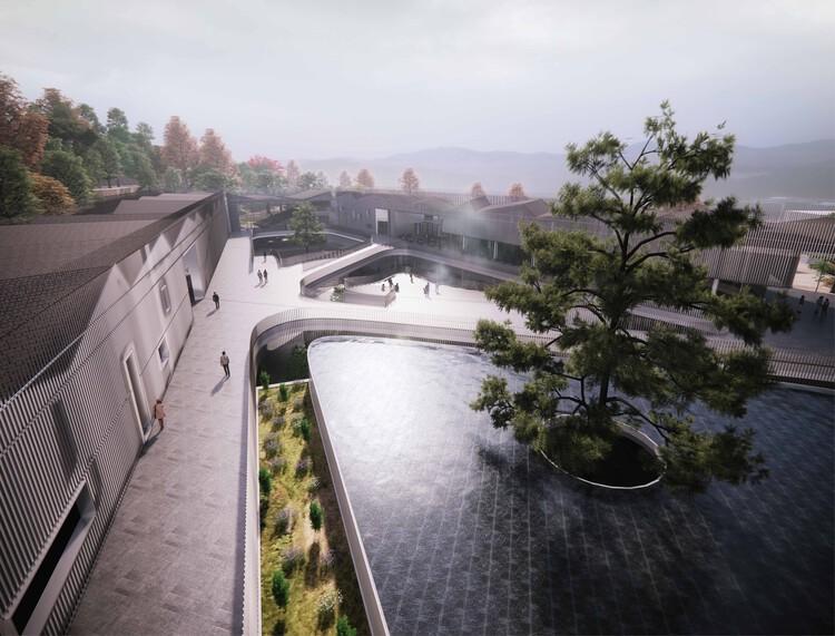 Национальный музей корейской литературы.  Изображение предоставлено TheeAe