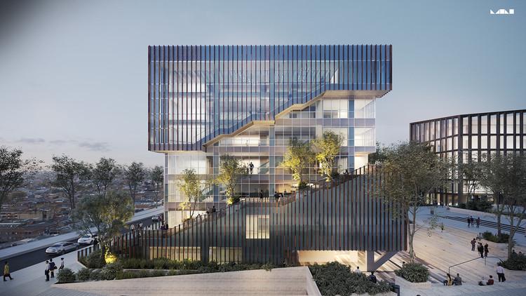 Avanza el proceso para la construcción de la nueva sede de la Alcaldía Local de Los Mártires en Bogotá, Cortesía de MC Arquitectos