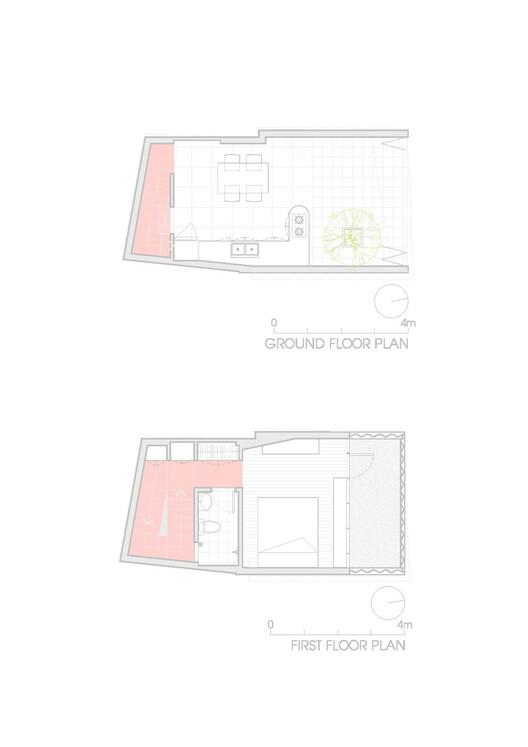 План - 1 и 2 этажи