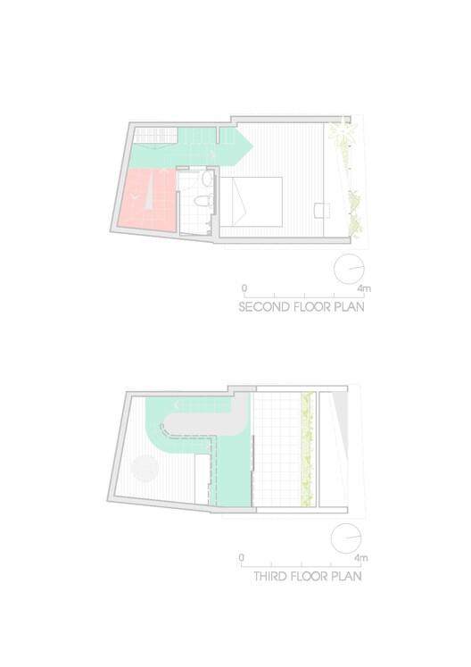 План - 2 и 3 этажи