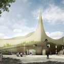 Central Mosque of Pristina Competition Entry / Taller 301 + Land+Civilization Compositions. Image Courtesy of Taller 301 + Land+Civilization Compositions