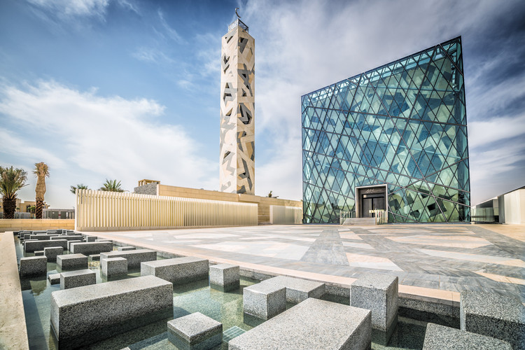 KAPSARC Mosque / HOK. Image © Abdulrahman Alolyan