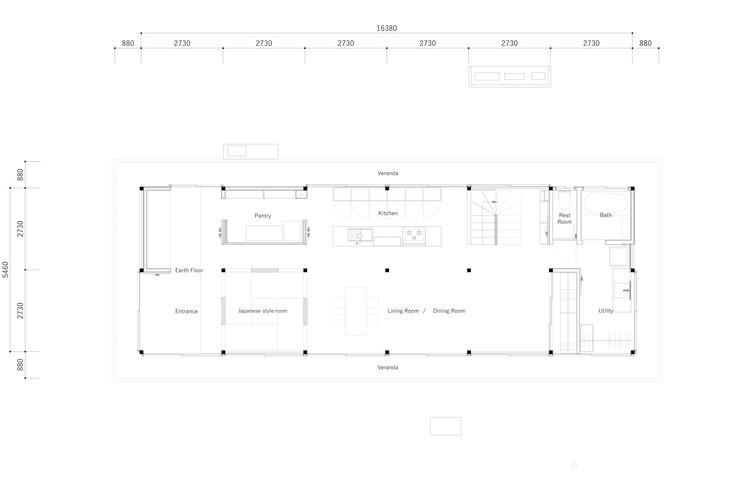 План - 1 этаж