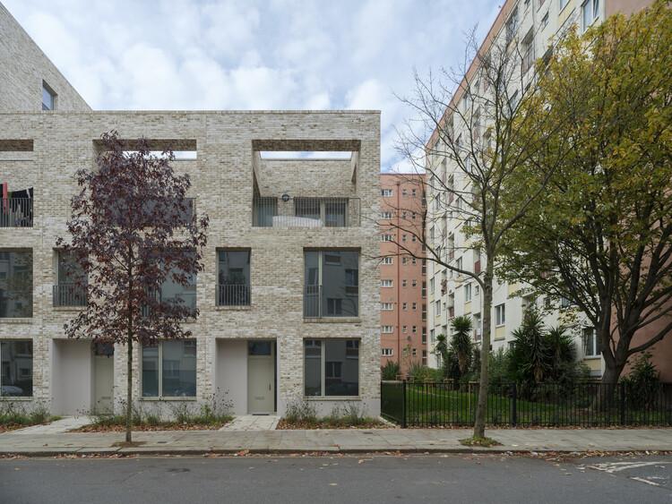 Схема жилищного строительства Caudale (Лондон, NW1) Mae Architects.  Изображение © Тим Крокер