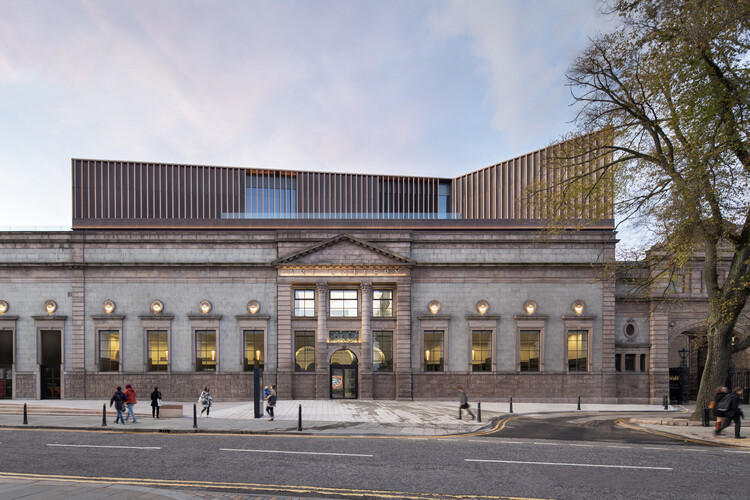 Художественная галерея Абердина от Hoskins Architects.  Изображение © dapple photography