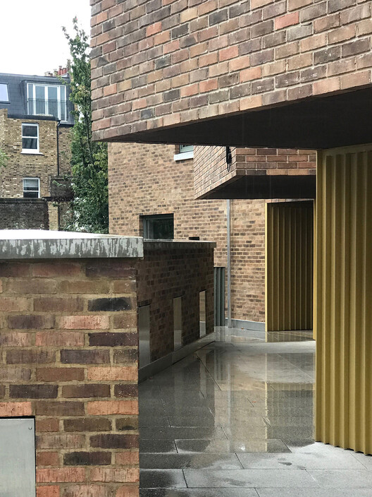 Moore Park Mews (Лондон, SW6) от Stephen Taylor Architects.  Изображение © Дэвид Грандордж