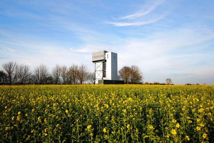 Водонапорная башня (Норфолк) Тонкина Лю.  Изображение © Деннис Педерсен