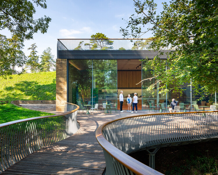 Музей истории садоводства (Сомерсет) от Stonewood Design с Mark Thomas Architects и Henry Fagan Engineering.  Изображение © Крейг Окленд