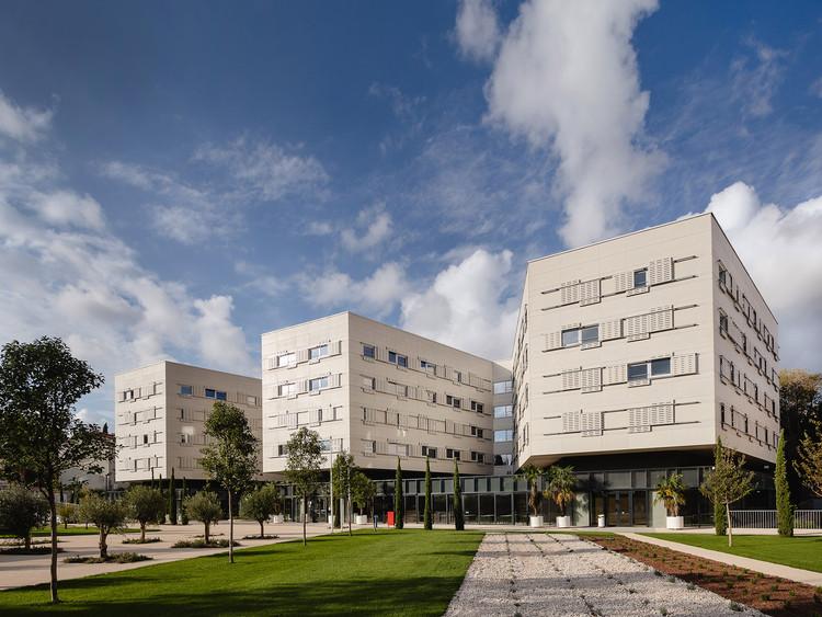Student Center Dormitories - Croatia ©Marko Ercegović. Image Courtesy of EU Mies Award