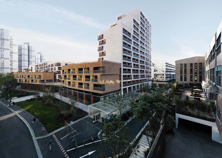 Социальное жилье на улице Улицяо / Архитектурный проект Shanghai ZF.  Изображение © Вэй Ли