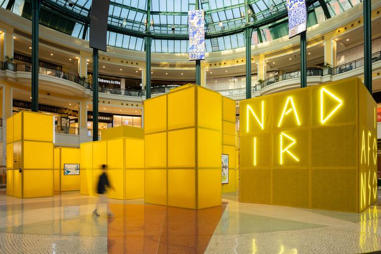 Museu Temporário Nadir Afonso / Diogo Aguiar Studio, © Ivo Tavares Studio