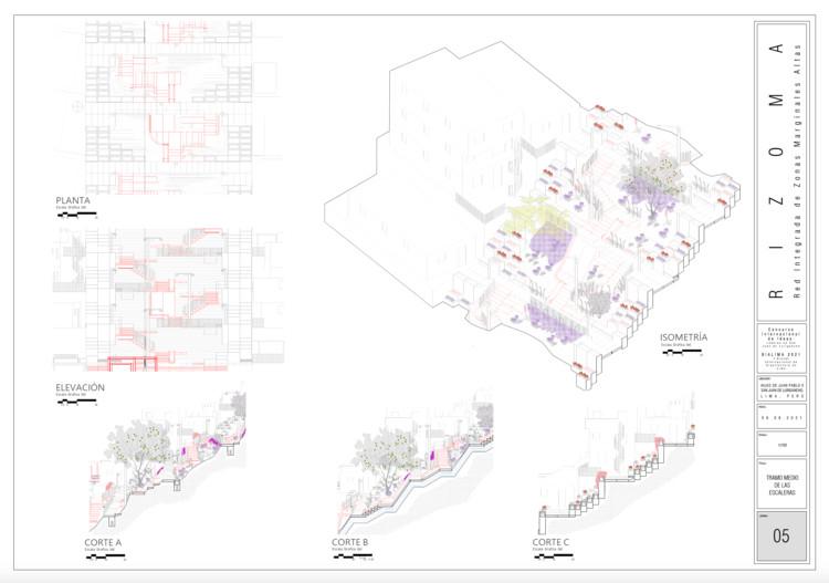 lámina proyecto RIZOMA. Image vía BIALIMA 2021