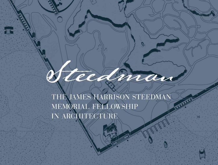Call for Entries: The James Harrison Steedman Fellowship in Architecture , Steedman Fellowship logo. Courtesy Washington University in St. Louis