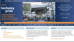 International Berkeley Undergraduate Prize / Berkeley Prize