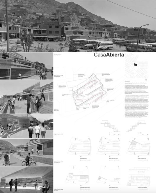 lámina proyecto EL CAMINO . Image vía BIALIMA 2021
