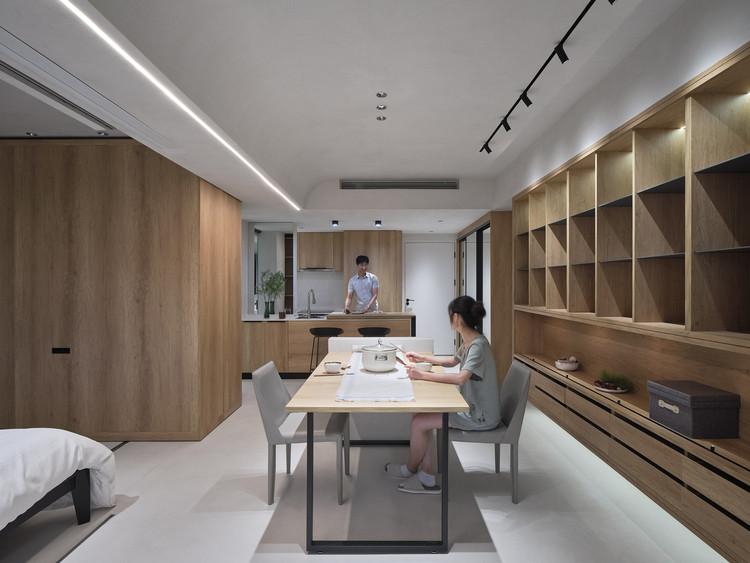 Доступные сборные апартаменты на берегу моря 40 м² / L&M DESIGN LAB.  Изображение © Qingyan Zhu