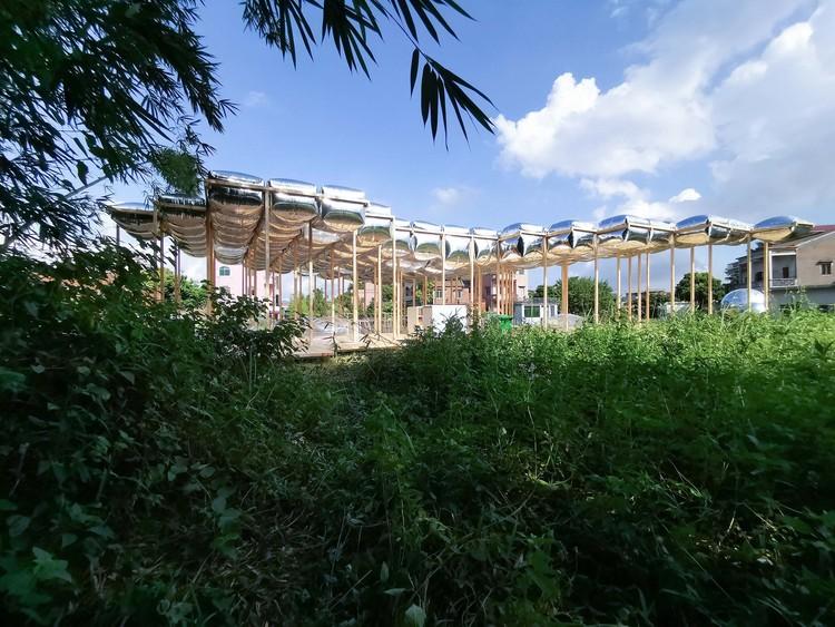 восточный хворост.  Изображение предоставлено Aether Architects