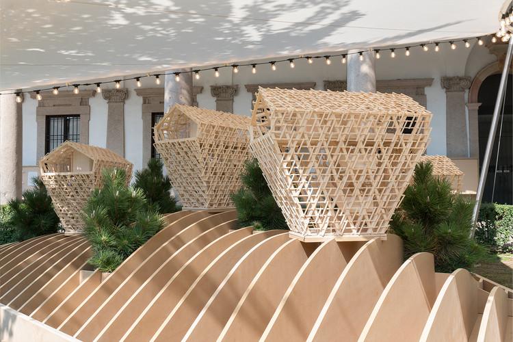 Вертикальные шале.  Изображение предоставлено Peter Pichler Architecture