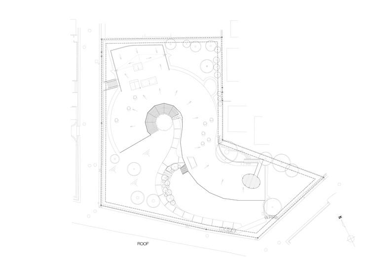 Plan - Roof Floor