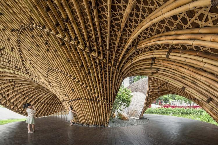 Micro Renovação de Parque Urbano / Atelier cnS + School of Architecture, South China University of Technology, Pavilhão Hui. Imagem © Siming Wu