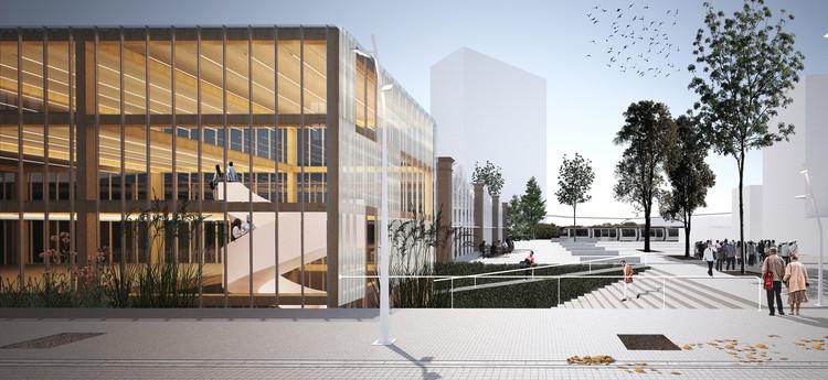Conoce el proyecto ganador para el Centro de Convenciones Distrito Tecnológico en La Plata, Argentina, Cortesía de Paralelo Colectivo - Taller de Arquitectura