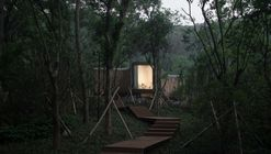 Spring Huts in Tangshan / MONOARCHI