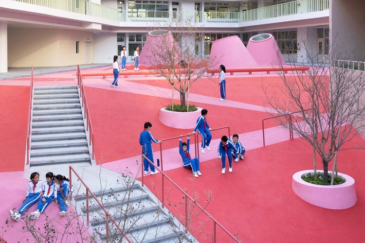 Xinsha Primary School / 11ARCHITECTURE. Image © Chao Zhang
