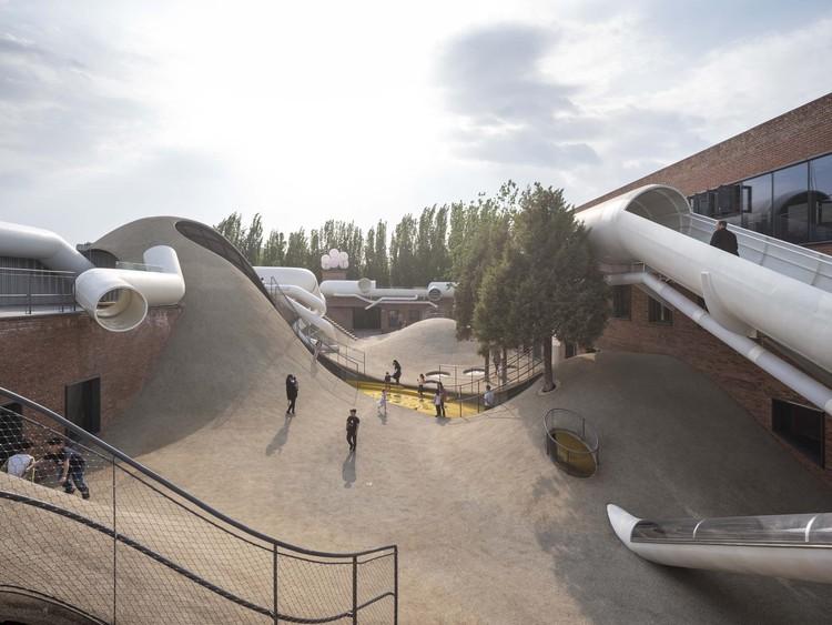Las ciudades tienen cada vez más jóvenes, ¿están preparadas?, Centro comunitario para niños The Playscape / waa. Image © Fangfang Tian