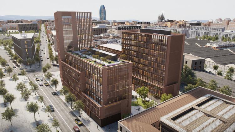 GCA Architects construye edificio de oficinas que reúne artesanía e innovación tecnológica en Barcelona, © Andreu Cabot
