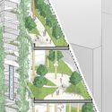 """""""A Chicago school"""" by Jay Longo, James Michaels, Kaitlin Frankforter, Michael Quach, Abaan Zia, Mackenzie Anderson, Nicolas Waidele, Roberta Brucato, Zachary Michaliska from Solomon Cordwell Buenz, Chicago.  Image courtesy of the Thompson Center Design Competition"""