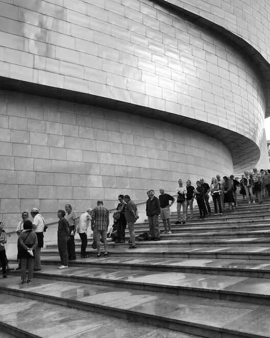 Guggenheim / Frank Gehry Museum.  Photo © Ira Gosalia