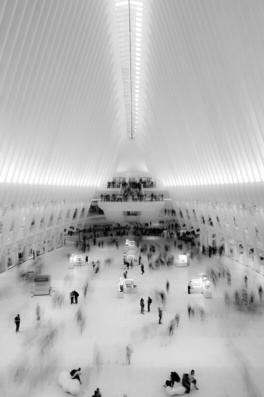 Oculus New York / Santiago Calatrava.  Photo © Benjamin Fuenzalida