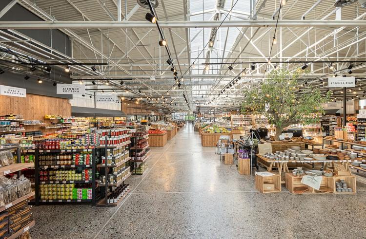 Ergon Agora East Supermarket / Urban Soul Project, © Kimberley Powell