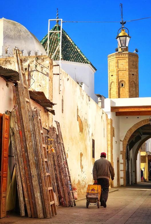 Old Medina area of Rabat. Image © Wikimedia User Yamen under the Creative Commons Attribution-Share Alike 4.0 International license.