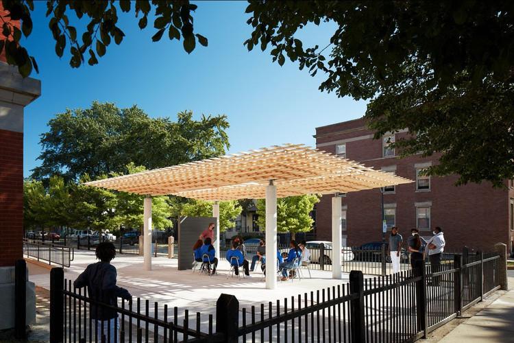 SOM explora métodos constructivos de madera en la Bienal de Chicago 2021, © Kendall McCaugherty © Hall+Merrick Photographers