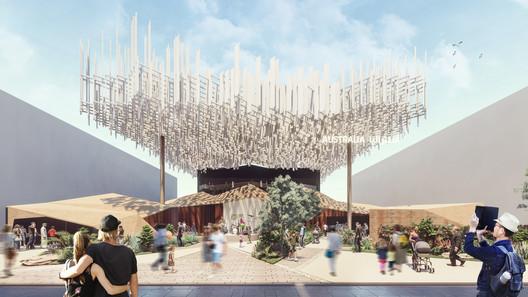 Australian Pavilion at the Expo 2020 Dubai Echoes the Country's Distinctive Culture and Landscape