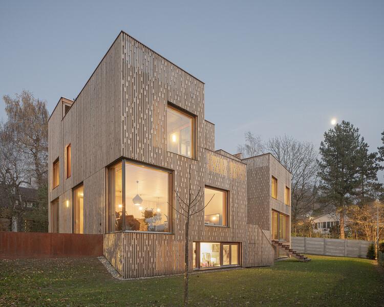 3 Casas Anexas / PONT12 architectes, © Matthieu Gafsou