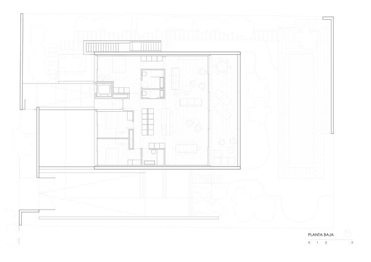 План - Первый этаж