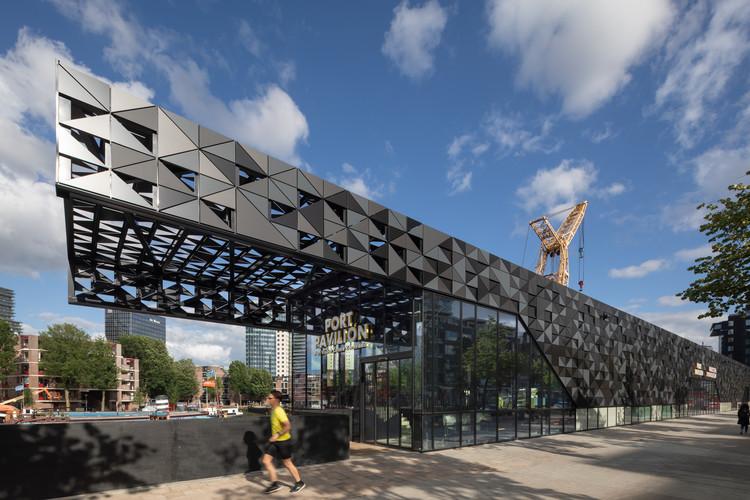 Port Pavilion Rotterdam / MoederscheimMoonen Architects, © Bart van Hoek
