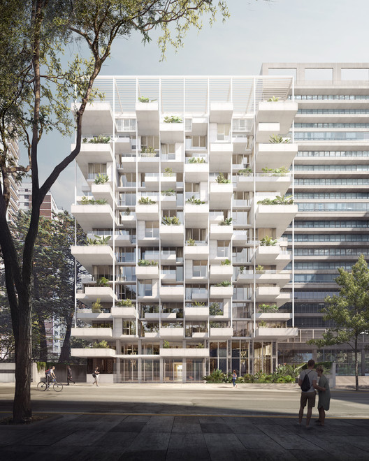 ODA comienza la construcción del edificio residencial ZETA en Buenos Aires, Edificio ZETA en Buenos Aires, diseñado por ODA. Image Cortesía de ODA